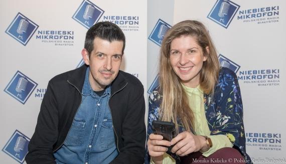 Paweł Ambrożewicz i Z Ilona Karpiuk, fot. Monika Kalicka