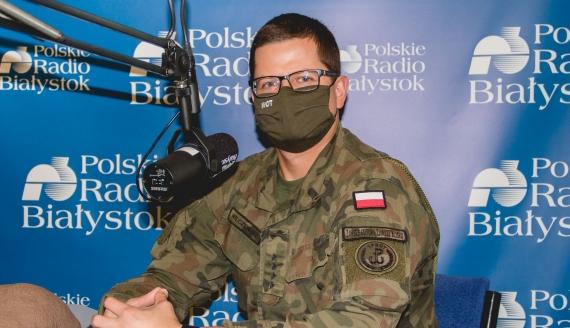 kpt. Łukasz Wilczewski, fot. Marcin Gliński