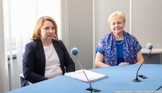Agnieszka Budnik i Bożena Krasnodębska, fot. Joanna Szubzda