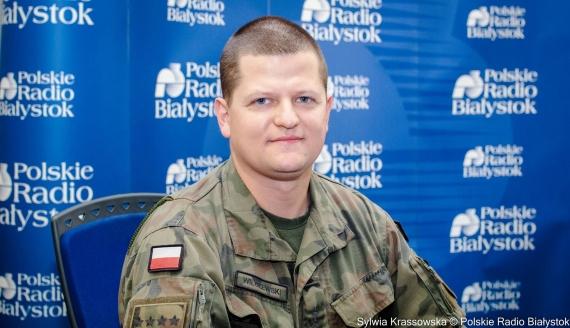 kpt. Łukasz Wilczewski, fot. Sylwia Krassowska