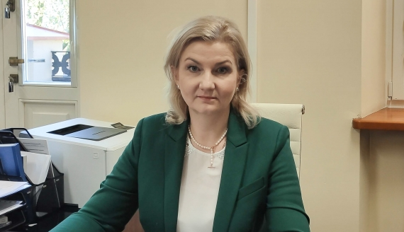 Agnieszka Muzyk, źródło: OKE w Łomży