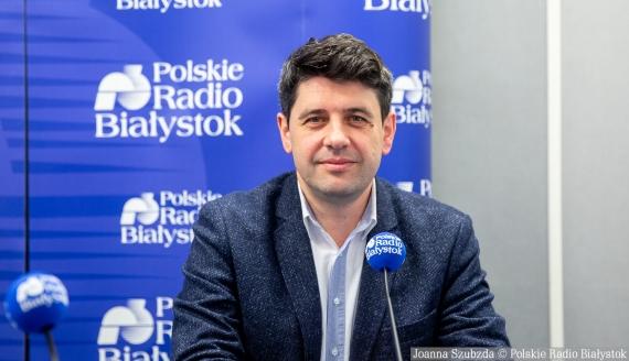 Mariusz Gromko, fot. Joanna Szuzbda