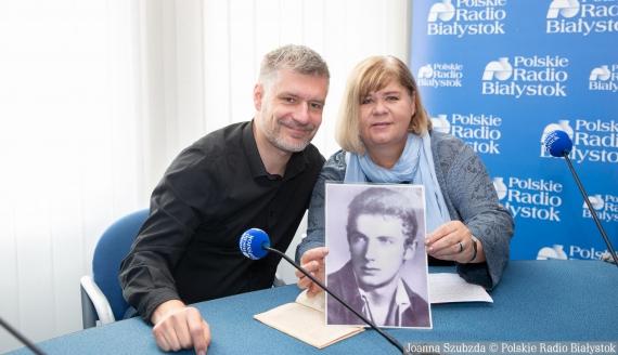 dr Krzysztof Korotkich i Bożena Bednarek, fot. Joanna Szubzda