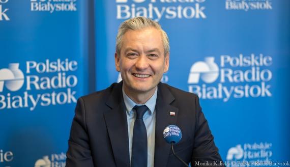 Robert Biedroń, fot. Monika Kalicka