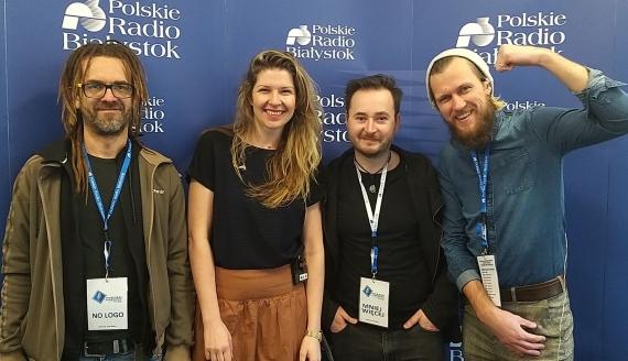 Muzycy z zespołów No Logo, Mniej Więcej, Ilo&friends, fot. Andrzej Bajguz
