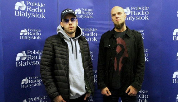 Krzysztof i Piotr z białostockiego zespołu SamoHa