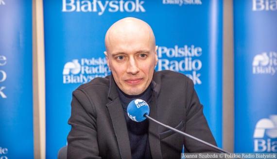 Rafał Gąsowski, fot. Joanna Szubzda