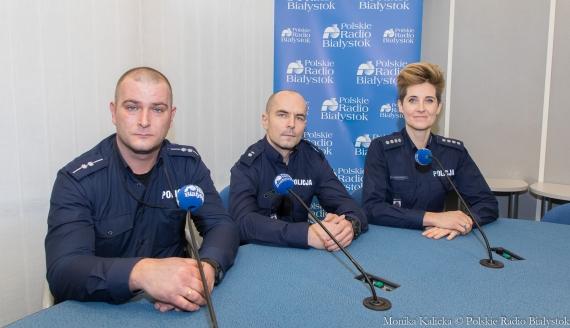 Jarosław Duda, Mirosław Klimuk i Joanna Rzepniewska, fot. Monika Kalicka