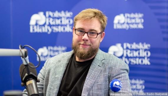 Michał Dąbrowski, fot. Joanna Szubzda