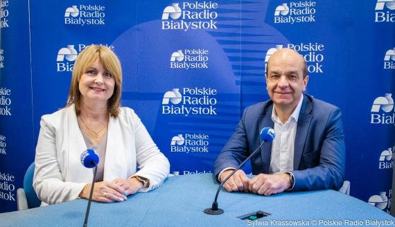 Elżbieta Sienkiewicz i Wojciech Roszkowski, fot. Sylwia Krassowska