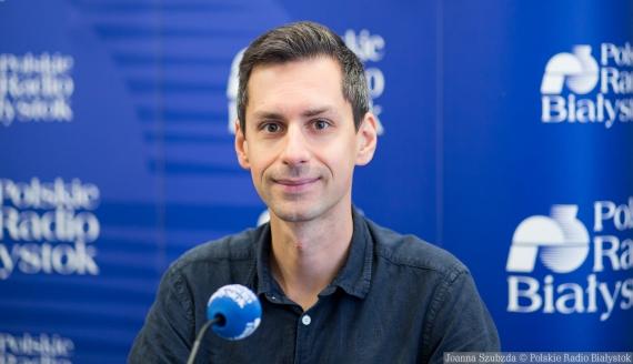 dr Maciej Białous, fot. Joanna Szubzda