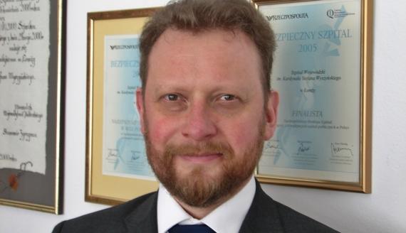 Łukasz Szumowski, fot. Adam Dąbrowski