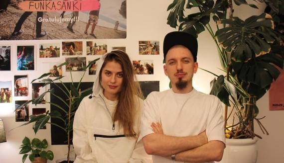 Anka Kaptór i Przemek Starachowski