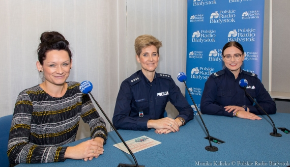Agnieszka Kopacewicz, Joanna Rzepniewska i Wioleta Włostowska, fot. Monika Kalicka
