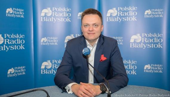 Szymon Hołownia, fot. Monika Kalicka