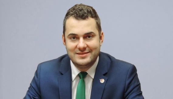 Prezydent Łomży Mariusz Chrzanowski, fot. Adam Dąbrowski