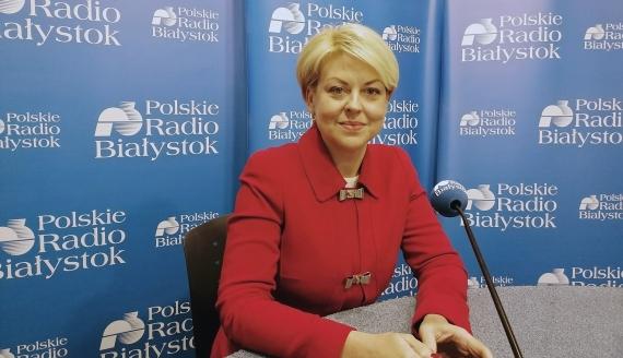 Przewodnicząca Związku Polaków na Białorusi Andżelika Borys - fot. Robert Bońkowski