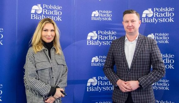 Magdalena Skup i Jan Perkowski, fot. Marcin Mazewski