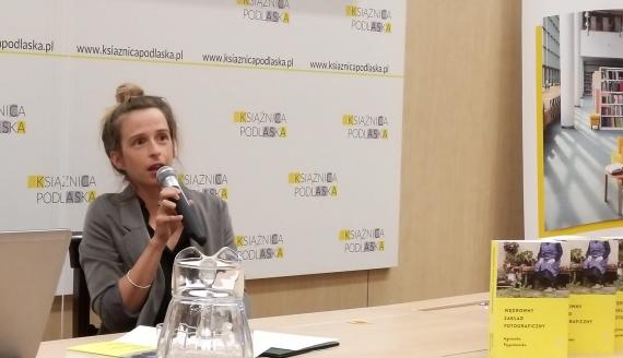 Agnieszka Pajączkowska, fot. Andrzej Bajguz