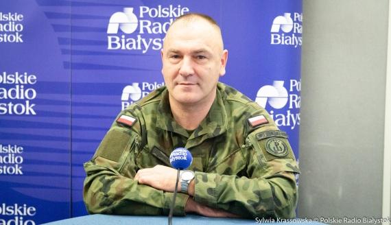 Płk Sławomir Kocanowski, fot. Sylwia Krassowska (archiwum)